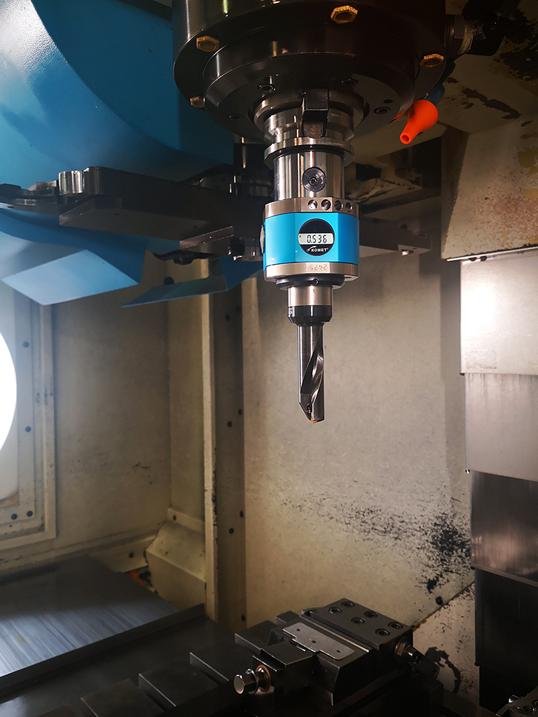 DART VMC 1000/A - testina digitale per barenatura ad alta precisione